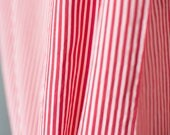 Red and white candy strip...