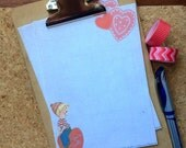 Retro Inspired Valentines Writing Paper Starionery