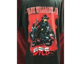 Vintage Hank Williams, JR Tour Tshirt