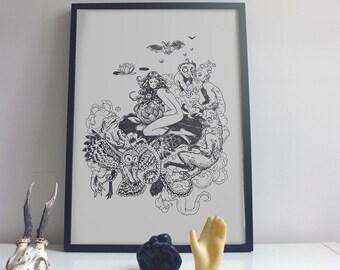 GOPLANA print 50x70cm