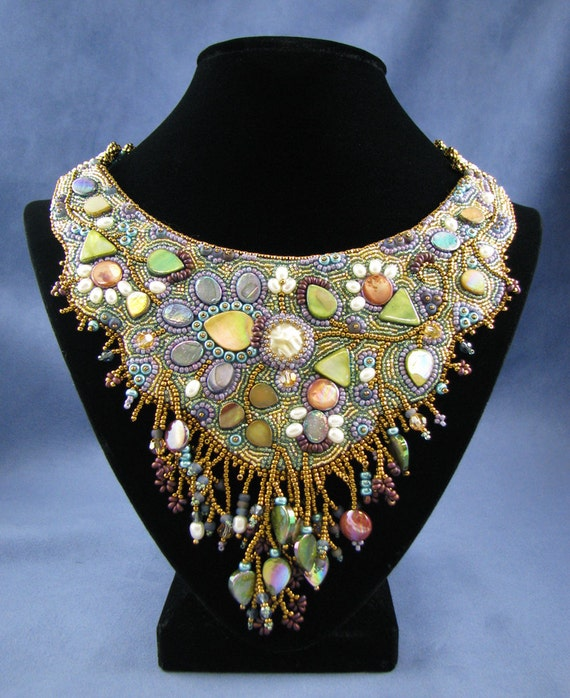 Midsummer night s dream bead embroidery necklace dvd kit