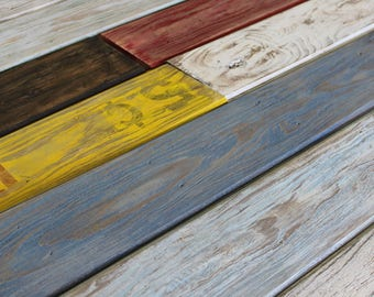 Rustic Accent Wall Wood Panels