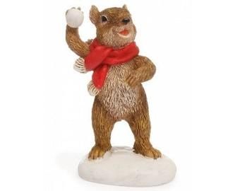 Squirrel Snowball Fight