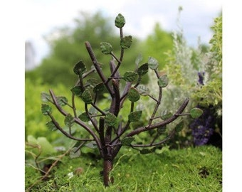 Fairy Garden  - Leafy Tree - Miniature