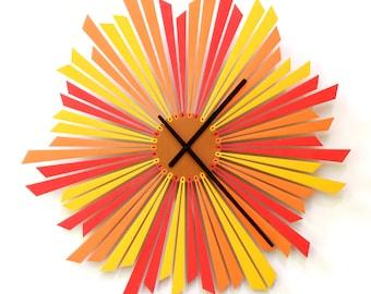 Horloge murale élégant - Soleil Couchant L / XL