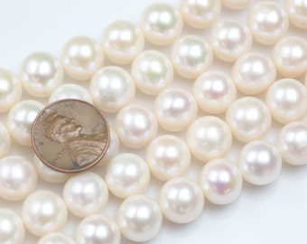 11-12mm Round Freshwater Pearl High Quality Round Freshwater Pearl