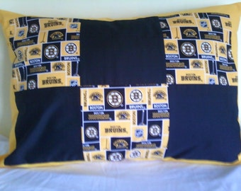BostonBruin pillow sham