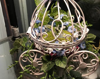 Cinderella Carriage with Glass Slipper Terrarium