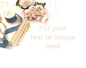 Styled Stock Photography / Mockup / Product Photography / Desktop / Flatlay / Staged Image / Blog Stock / Social Media / StockStyle-787