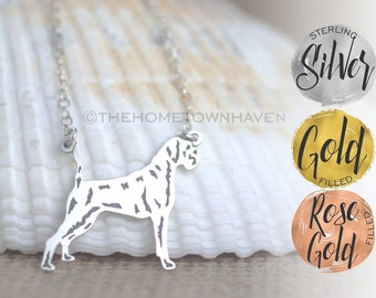 Boxer Necklace - Boxer lover gift, Boxer dog necklace, dog breeds