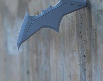 Wall Mounted Batarang   3D Printing   Digital Download   DIY