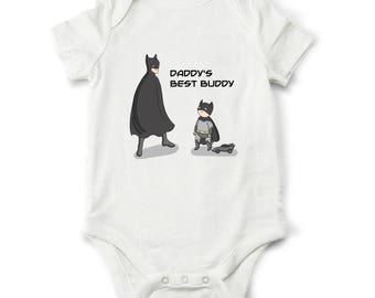 Baby boy bodysuit, Batman baby boy, funny boy clothes, baby shower gift, superhero bodysuit