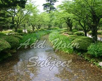 Digital Photo Backdrop Download Landscape Scenic Photography Background