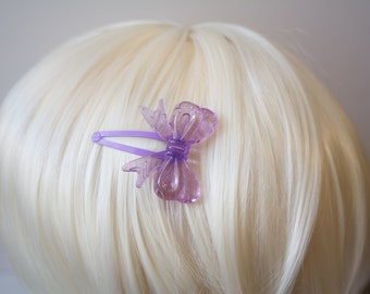 Light Purple Lolita Bow Hair Clips