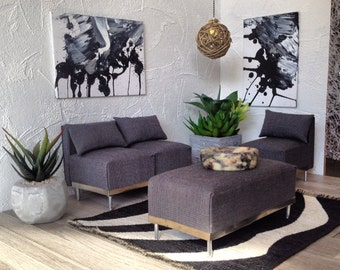 Sectional Sofa Etsy