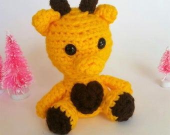 Giraffe Mini Crochet Stuffed Animal Amigurumi