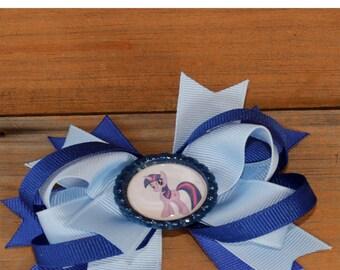 SALE SALE girl hair bow My Little Pony hair bow, baby hair bow toddler hair bow  girls hair bow, Kids hair bow Little Pony hairbow