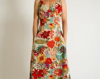 Dyane Ibis long colourful summer dress