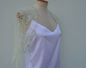 Clearance 30% chic Bolero, wedding lace bolero cover-up