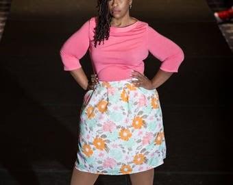 """Custom Skirt - Pleated Skirt - """"Buttercup"""""""