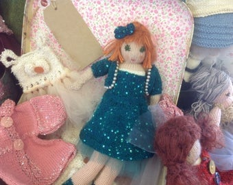 Hand crafted heirloom dolls
