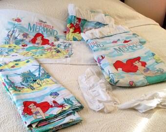 Mermaid Bedding Etsy