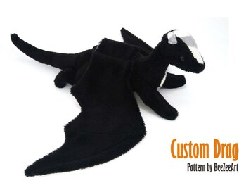 Custom Baby Dragon Plush - multiple color options