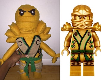 Gold Ninja from Ninjago Plush