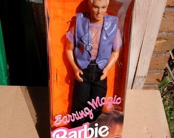 Mattel Vintage 1992 Earring Magic Ken Doll