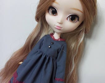Mori Times Graphite dress for pullip blythe azone momoko obitsu and similar dolls