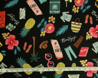 Fabric Patchwork - Bon Voyage