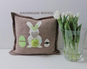 Easter cover pillow, decorative pillows, throw pillow covers, spring throw pillows, personalized pillows, farmhouse pillow, accent pillow