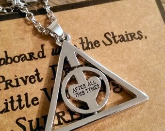 Harry Potter Always Spinner Necklace