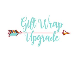 Gift Wrap Upgrade (Add-On to Your Order to Include Gift Box, Ribbon, & Customized Gift Tag)