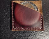Leather Coin Sleeves