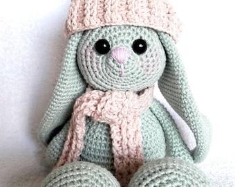 Bubbles the Bunny Crochet Amigurumi Kawaii Toy Pattern PDF