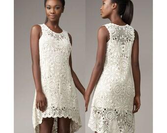 crochet dress pattern,detailed tutorial,crochet tunic pattern,crochet wedding dress,crochet plus size dress,crochet boho dress pattern