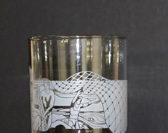 Vintage McDonald's Hawaii Glass, 1980's Mcdonald's, Rocks Glass,