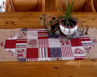 Table runners in the Scandinavian style