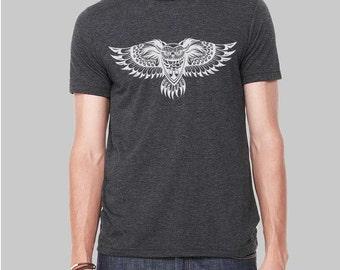 Owl Shirt, Owl, Graphic Tees for Men, Mens Tshirt, Graphic Tee, Gift For Men, Clothing, T Shirt, T Shirts For Men