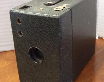 Vintage Brownie Box Camera, Kodak Box Camera  116 Film Camera, Sold as Prop