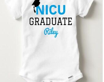 NICU Graduate - bodysuit, Preemie Bodysuit, preemie TEE, Preemie clothes, Boy, Baby Girl, hospital outfit preemie, Bodysuits, NICU tee shirt