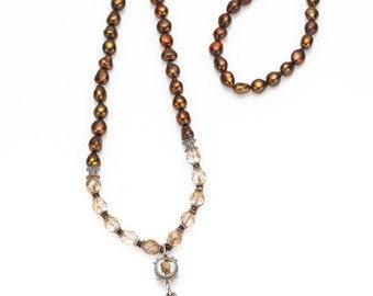 Neutral Bohemian Necklace