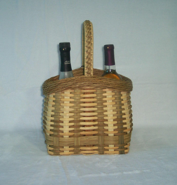 Basket Weaving Kits : Basket weaving kit cottage wine
