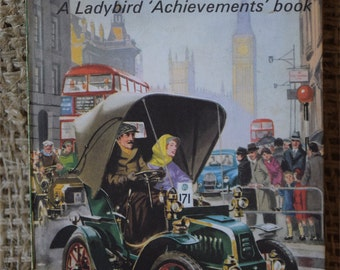 The Story of the Motor Car. A Vintage Ladybird Book. Series 601