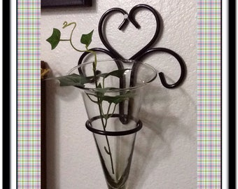Wrought iron wall art etsy for Iron accents promo code