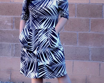 Plus size sewing pattern for women Plus size dress PDF sewing pattern for women Curvy skater dress PDF pattern PDF sewing pattern plus size