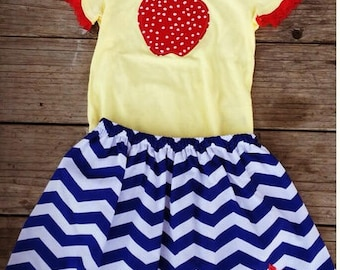 Snow White Skirt Set