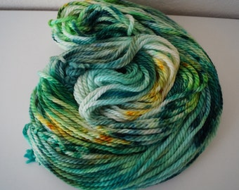 Cotton Headed Ninny Muggins on Merino Bulky – Hand Dyed Yarn