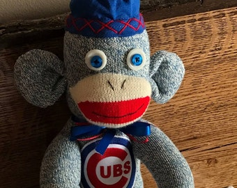 Chicago Cubs sock monkey
